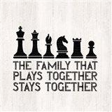 Chess Sentiment II-Family Art Print
