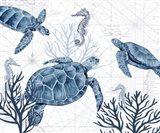 Deep Blue Sea XIX Art Print