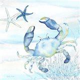Great Blue Sea V Art Print