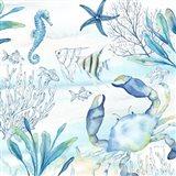 Great Blue Sea XVI Art Print