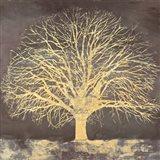 Golden Oak Art Print