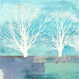 Tree Lines I (detail) Art Print
