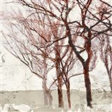 Rusty Trees II Art Print