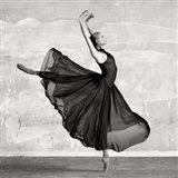 Ballerina Dancing (detail) Art Print