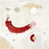 Galassia # 3 (Rosso) Art Print