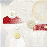 Galassia # 4 (Rosso) Art Print