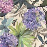 Lilac Hydrangeas Art Print