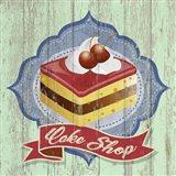 Cake Shop Art Print