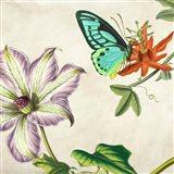 Panneau Botanique VI Art Print