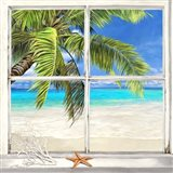 Horizon Tropical l Art Print