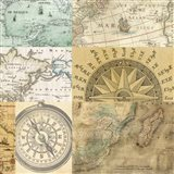 Cahiers de Voyage III Art Print