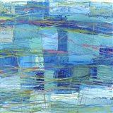 Monocromo Oceano Art Print