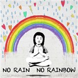 No Rain No Rainbow (detail) Art Print