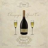 Champagne Grand Cru Art Print