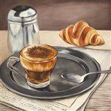 Espresso & News Art Print