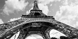 The Eiffel Tower in Spring Art Print