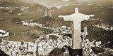 Overlooking Rio de Janeiro, Brazil Art Print