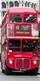 Double-Decker Bus, London Art Print