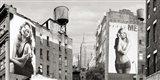 Billboards in Manhattan Art Print