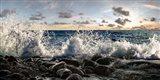 Waves Crashing, Point Reyes, California (detail) Art Print