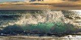 Wave Crashing on the Beach, Kauai Island, Hawaii (detail) Art Print