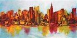 New York Abskyline Art Print
