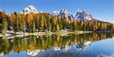Lago Antorno and Misurina, Dolomites, Italy Art Print