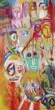 Facebook People II Art Print