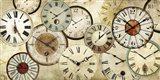 Timepieces Art Print