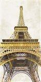 Gilded Eiffel Tower Art Print