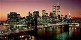 Brooklyn Bridge, NYC Art Print