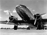 1940s Passenger Airplane Art Print