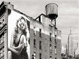Billboards in Manhattan #1 Art Print