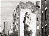 Billboards in Manhattan #2 Art Print