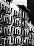 Fire Escapes in Manhattan, NYC Art Print