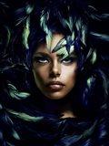 Shimmering Goddess Art Print