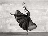Ballerina Dancing Art Print