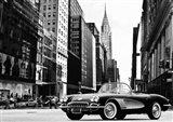 Roadster in NYC Art Print