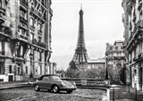 Roadster in Paris Art Print