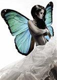 Winged Beauty #1 (detail) Art Print