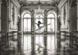 Ballerina in a Palace Hall Art Print