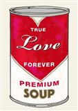 Love Soup Art Print