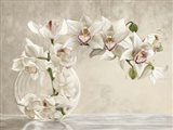 Orchid Vase Art Print