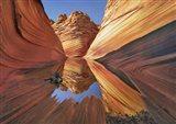 The Wave in Vermillion Cliffs, Arizona Art Print