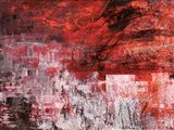 Rosso Tramonto Art Print