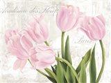Academie des Fleurs Art Print