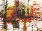 Astratto Cremisi Art Print