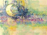 Riflessi di Luna Art Print