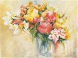 Bouquet d'Estate Art Print