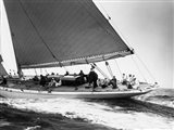 Yankee Cruising on East Coast, 1936 Art Print
